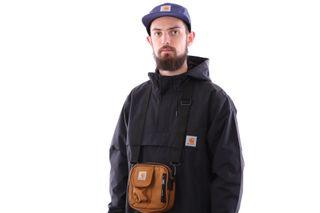 Foto van Carhartt Wip Essentials Bag I006285 Schoudertas Hamilton Brown