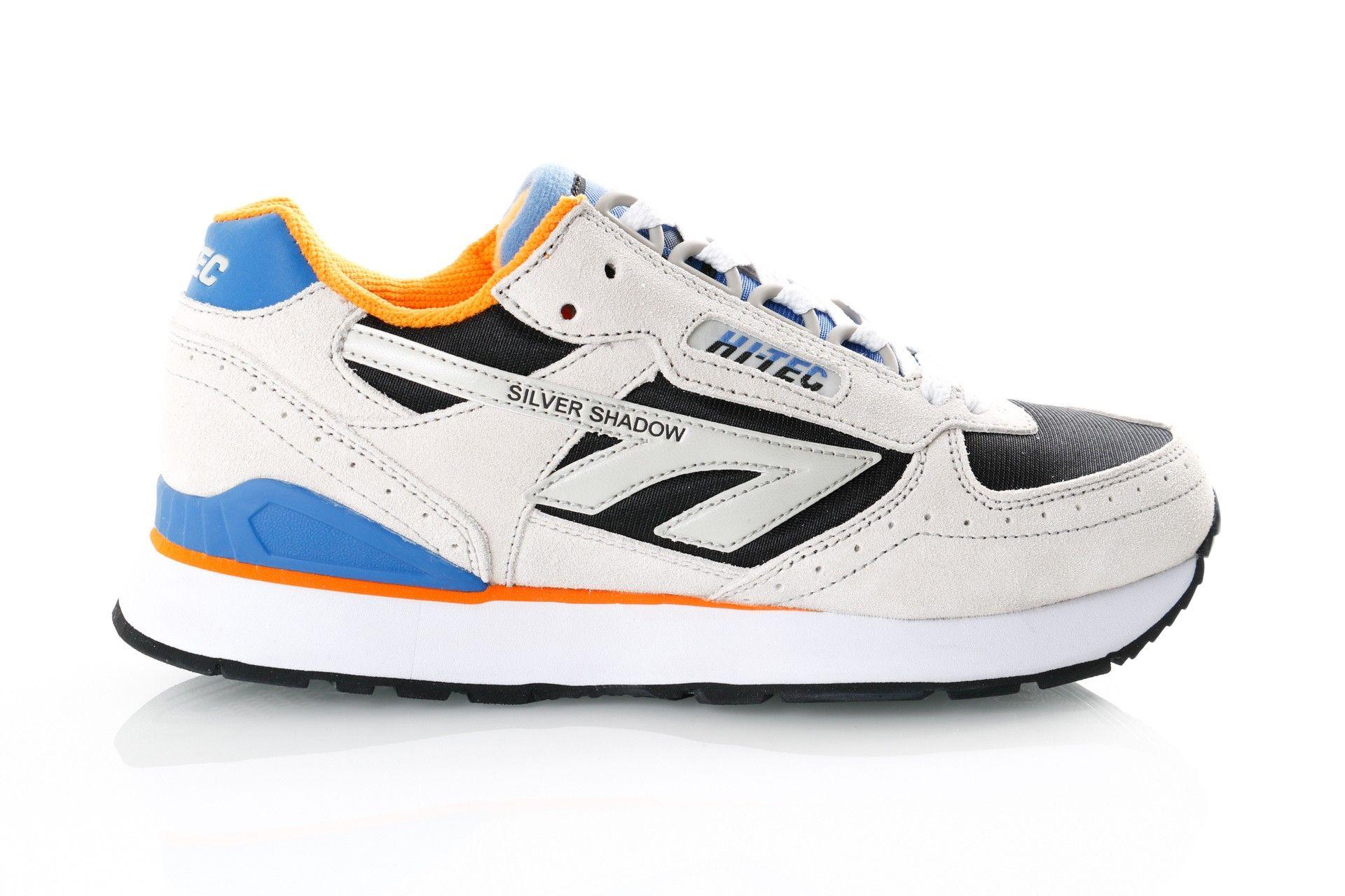 Afbeelding van Hi-Tec Silver Shadow S010001/071 Sneakers Grey/ Black/Blue /Orange