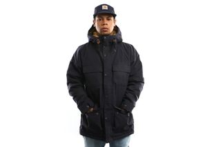 Foto van Carhartt Wip Mentley Jacket I021871 Jacket Dark Navy