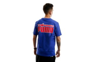 Foto van Puma T-shirt Puma X Th Tee Royal Blue 596750 20