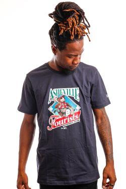 Afbeelding van New Era T-shirt Minor League Heritage Graphic ASHTOU NAVY NE12827265