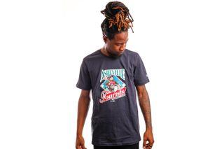 Foto van New Era T-shirt Minor League Heritage Graphic ASHTOU NAVY NE12827265