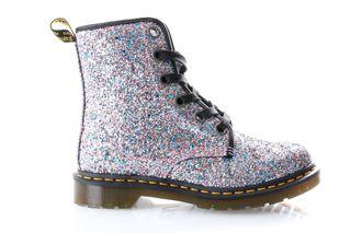 Foto van Dr. Martens Boots 1460 Farrah Multi Blue Chunky Glitter 25137667