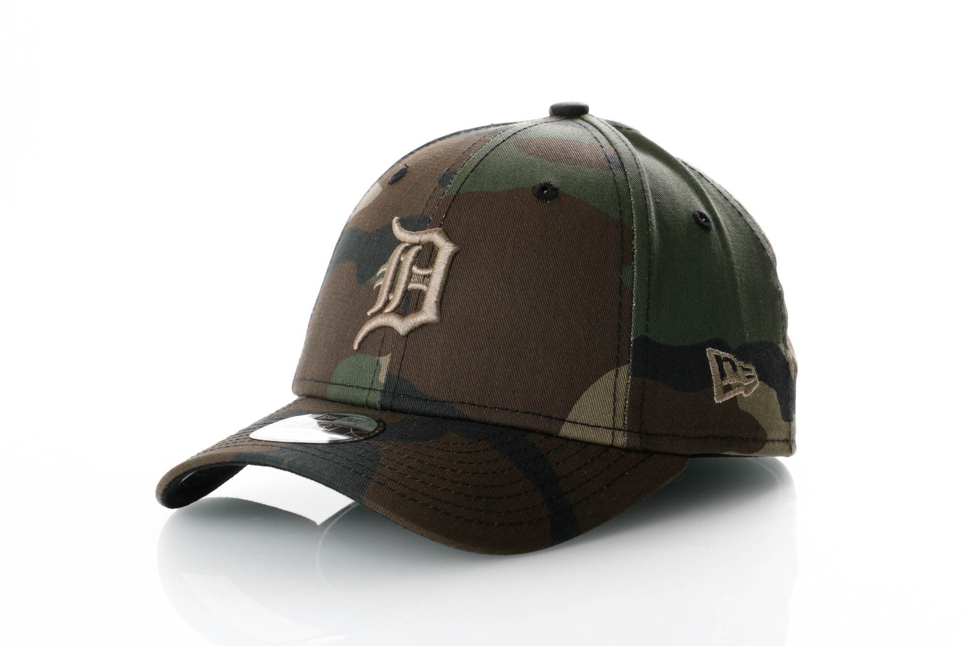 Afbeelding van New Era Dad Cap Detroit Tigers Camo Essential 9Forty 11871652
