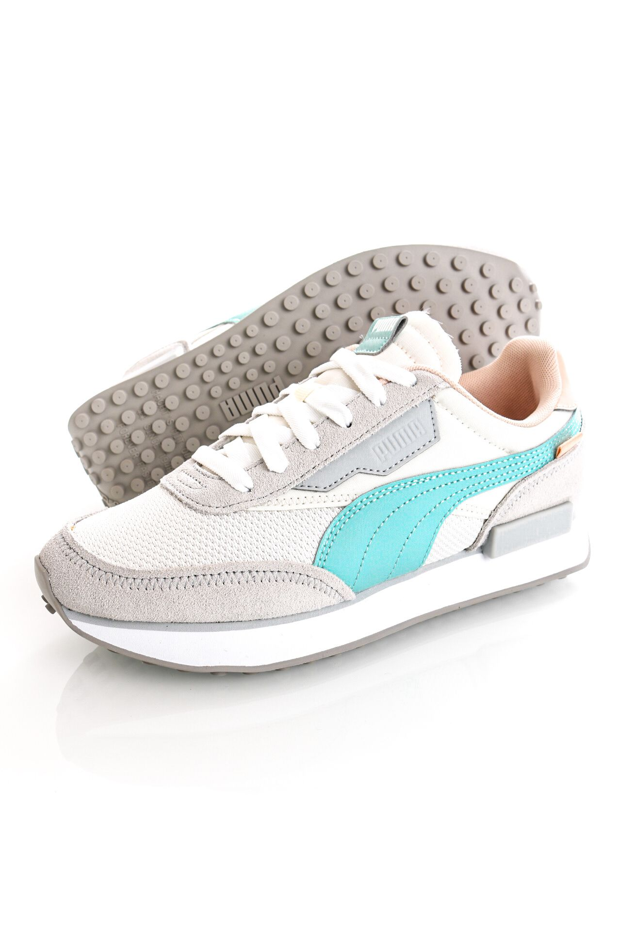 Afbeelding van Puma Sneakers Future Rider Soft Wns Ivory Glow-Gray Violet 38114104