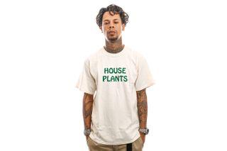 Foto van The Quiet Life T-Shirt House Plants T Cream 21FAD1-1150