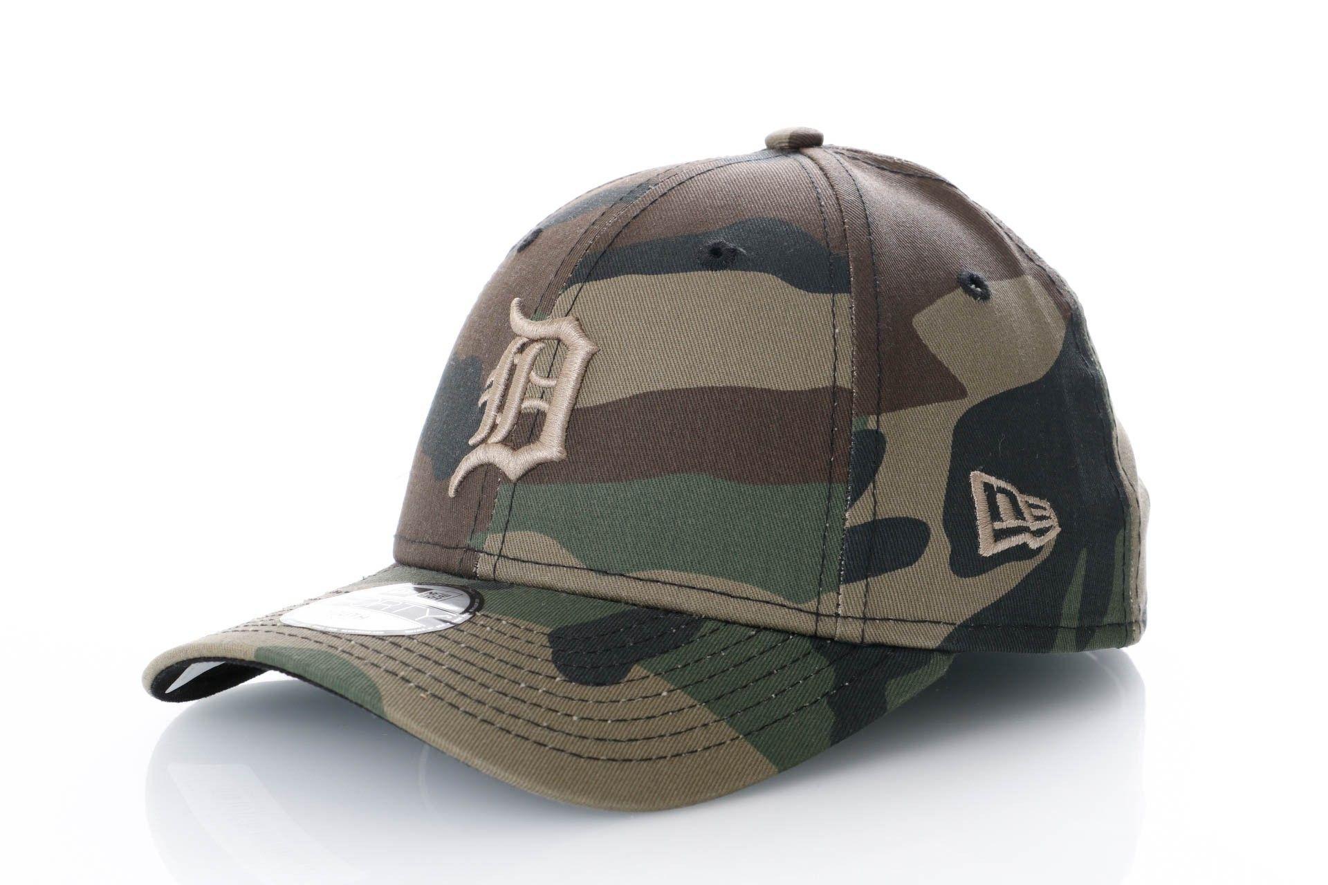 Afbeelding van New Era Dad Cap Detroit Tigers Kids Camo Fabric 9Forty 11871641