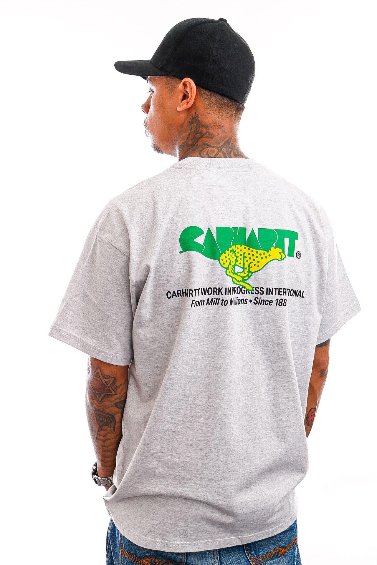 Afbeelding van Carhartt T-shirt S/S Runner T-Shirt Ash Heather I029934