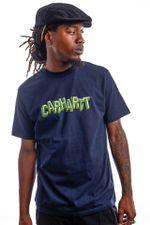 Carhartt T-Shirt S/S Shattered Script Dark Navy I029604