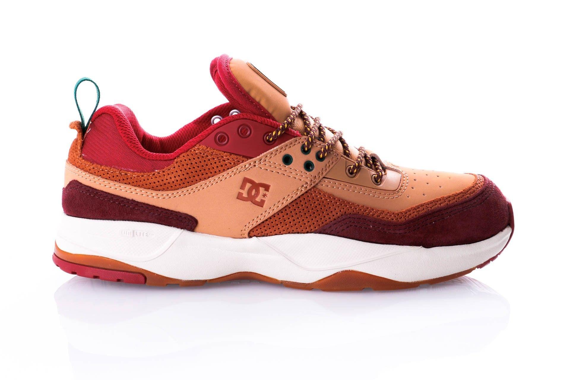 Afbeelding van Dc E.Tribeka Se M Shoe Bt3 Adys700142-Bt3 Sneakers Burgundy/Tan