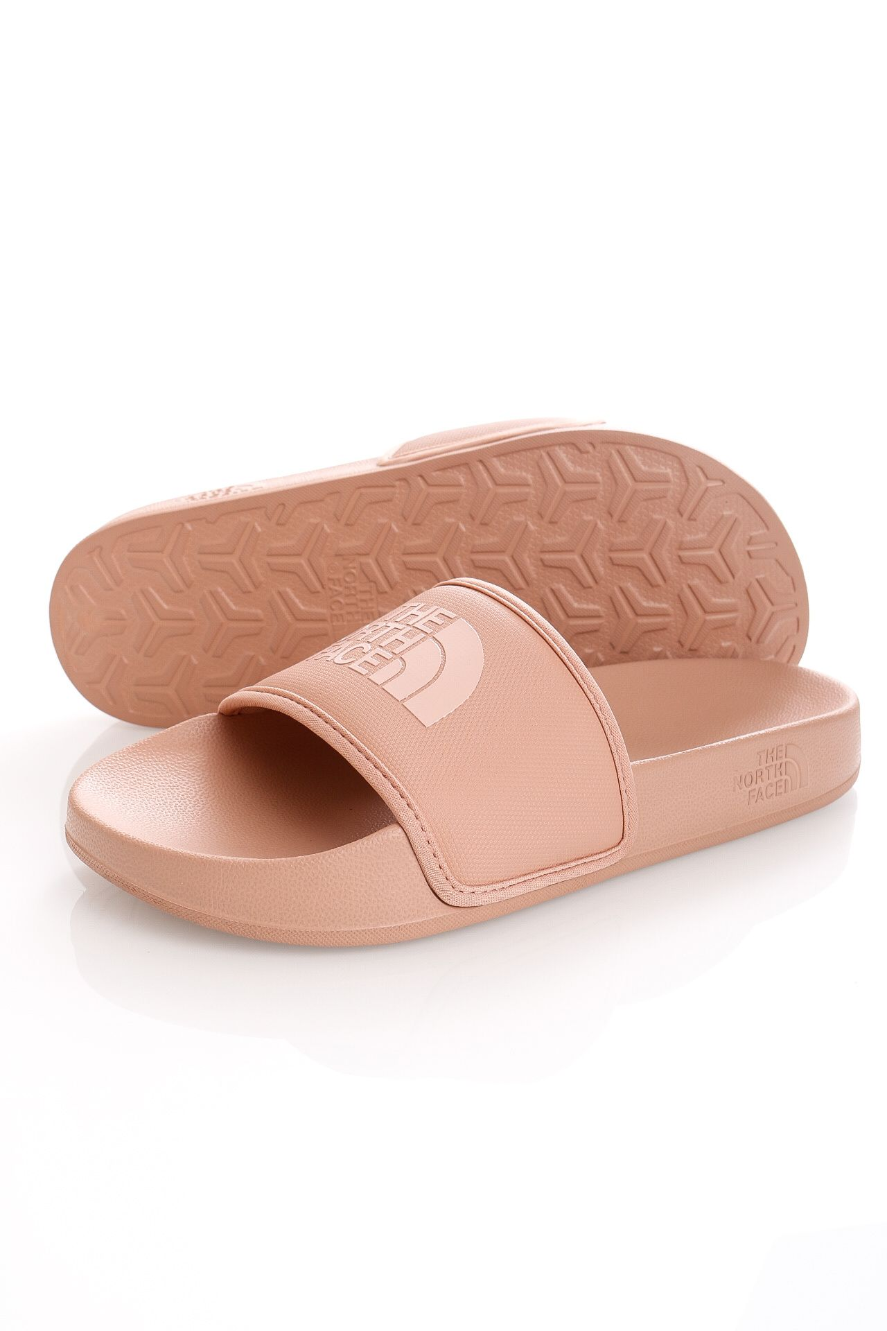 Afbeelding van The North Face Slippers Womens Base Camp Slide III Café Crème NF0A4T2SZ1P1