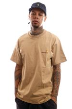 Carhartt T-Shirt S/S American Script T-Shirt Dusty H Brown I029007