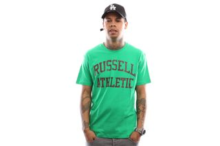Foto van Russell Athletic Iconic Short Sleeve A9-002-1 T Shirt Wild Lime
