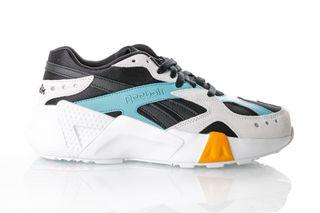 Foto van Reebok Aztrek Double 93 Dv5387 Sneakers Black/Blue/Grey/Gold