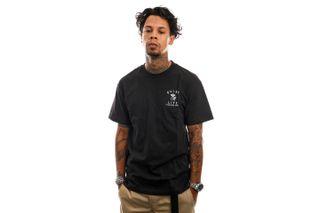 Foto van The Quiet Life T-Shirt Shhh Shop T Black 21FAD1-1172