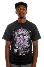 HUF T-Shirt HUF CHAKRA ALIGNMENT S/S Black TS01501