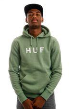HUF Hoodie HUF ESSENTIALS OG LOGO P/O Basil PF00099