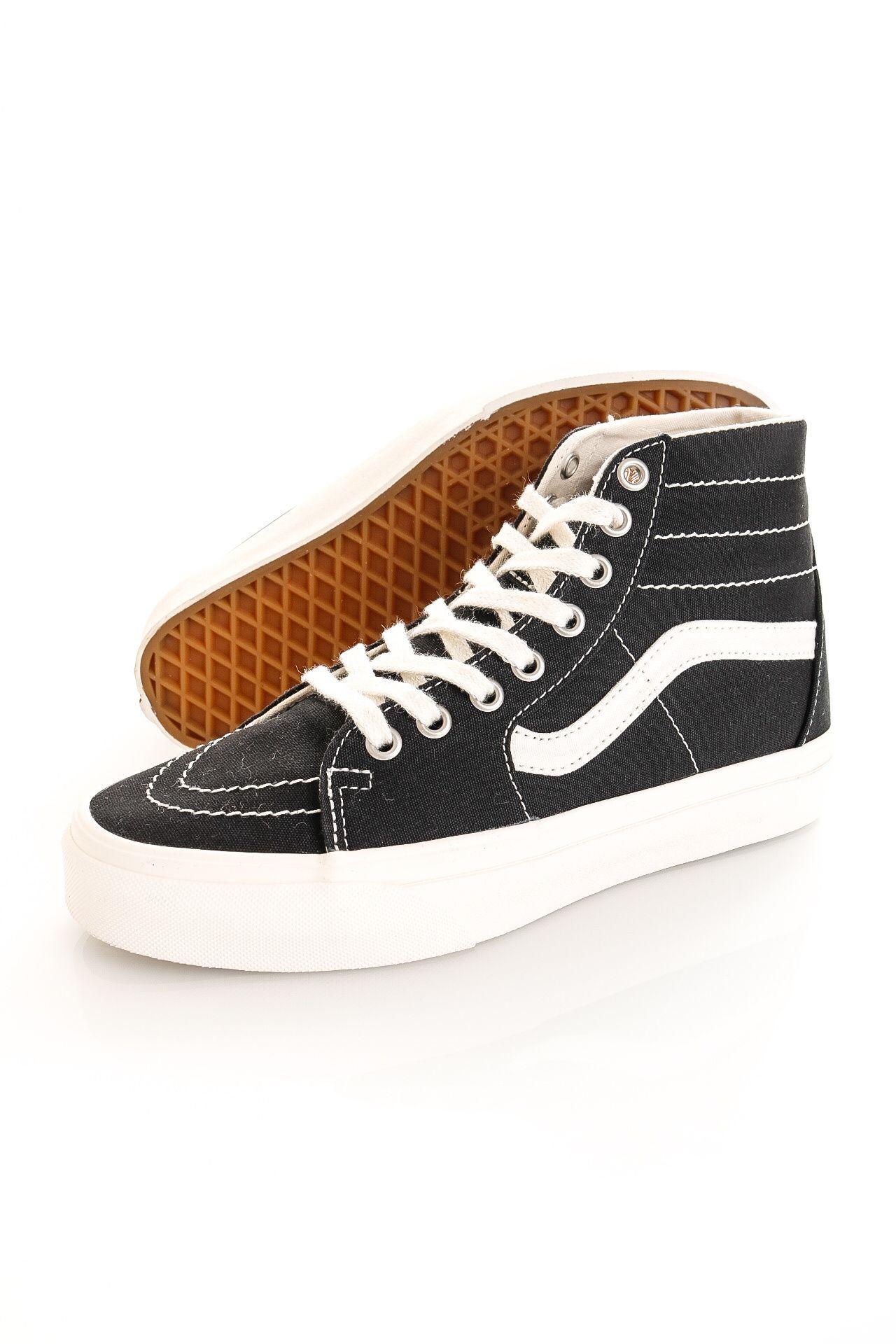 Afbeelding van Vans Sneakers UA SK8-Hi Tapered (Eco Theory) Blk/Natural VN0A4U169FN1