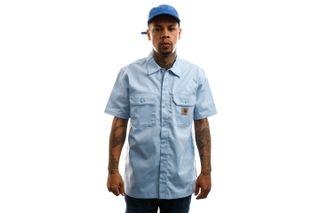 Foto van Carhartt Overhemd S/S Master Shirt Citizen I027580