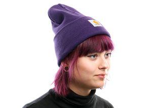 Foto van Carhartt Wip Acrylic Watch Hat I020222 Muts Royal Violet