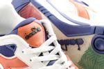 Afbeelding van Diadora Rebound Ace Beta 501175499 Sneakers White/Burnt Orange
