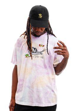 Afbeelding van The Quiet Life T-shirt Snail Tee Tie Dye QL-21SPD2-2121