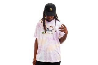 Foto van The Quiet Life T-shirt Snail Tee Tie Dye QL-21SPD2-2121