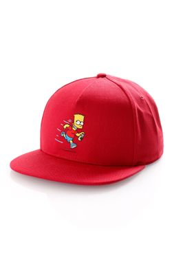 Afbeelding van Vans Snapback Cap Mn Vans X The Simpsons Deep Red/True W VN0A4TQ917A1
