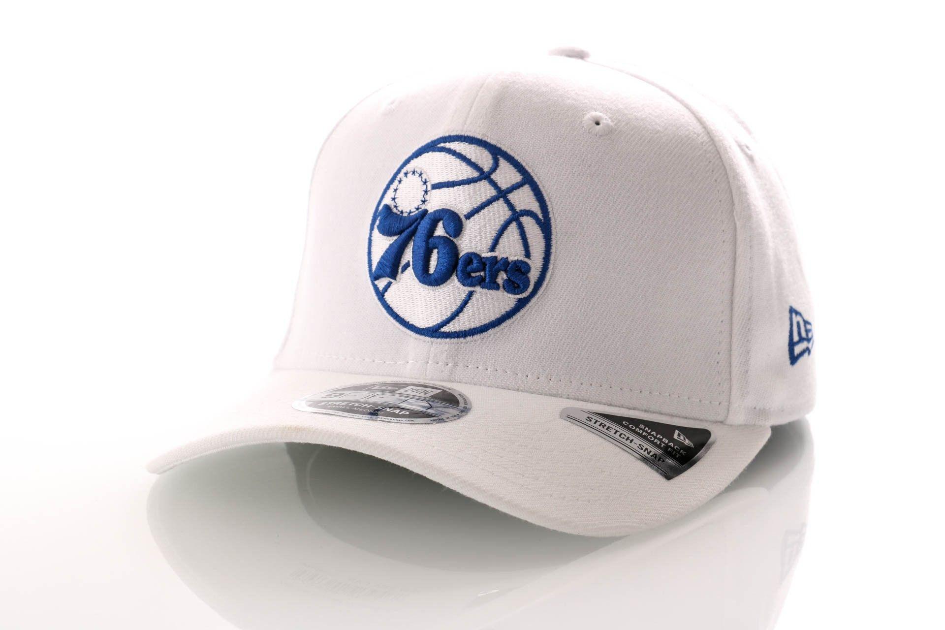 Afbeelding van New Era Snapback Cap Philadelphia 76ers White Base Stretch Snap 9Fifty 12040166