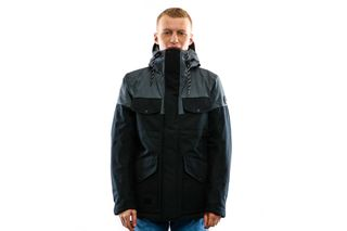 Foto van Reell Jacket Field Jacket 2 Dark Grey / Black 1306-048