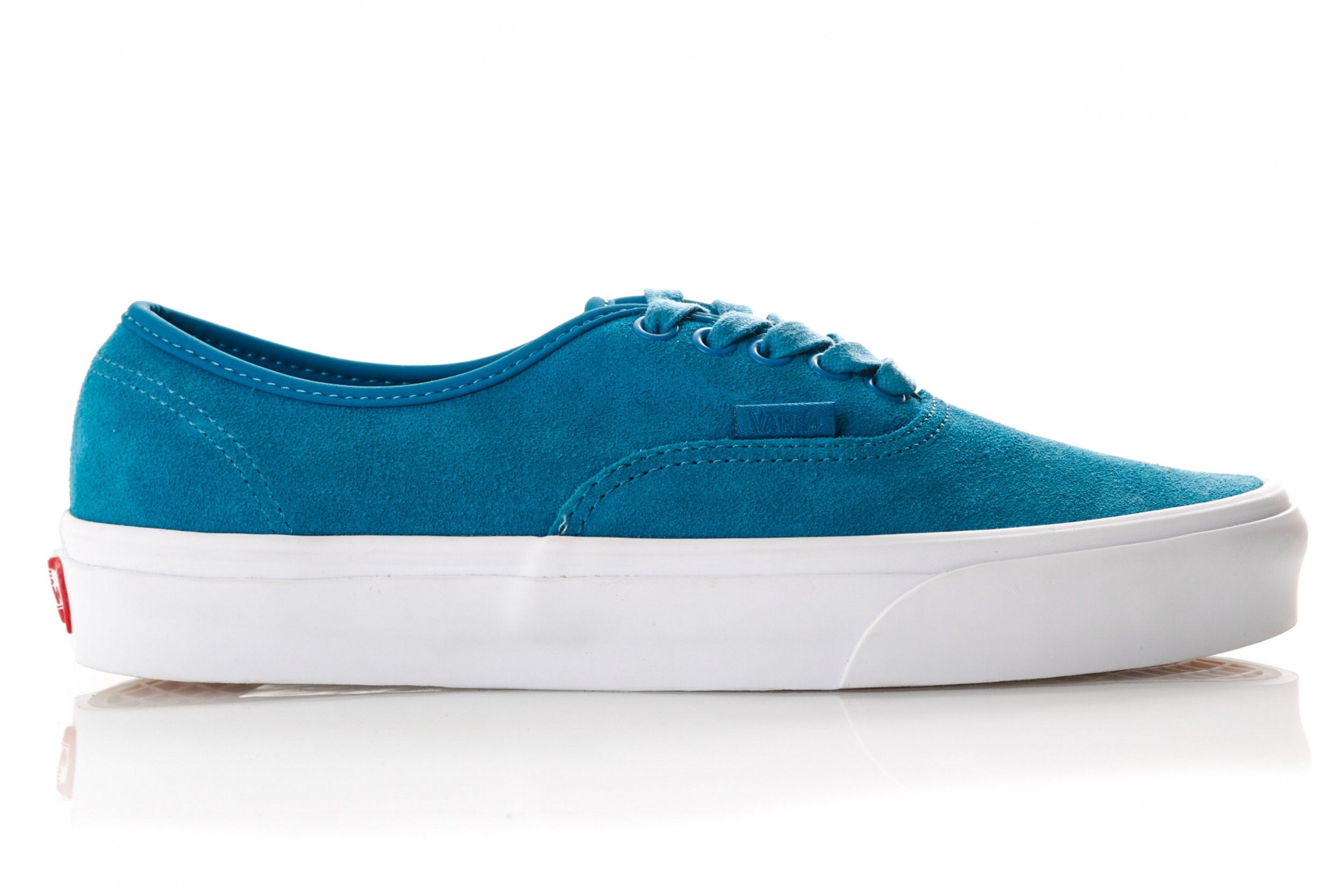 Afbeelding van Vans Ua Authentic Vn0A38Emvkd Sneakers (Soft Suede) Blue Sapphire/True White