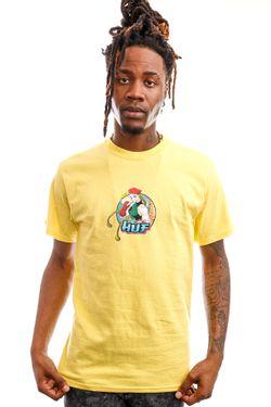 Afbeelding van HUF T-Shirt Cammy S/S Tee Yellow TS01557