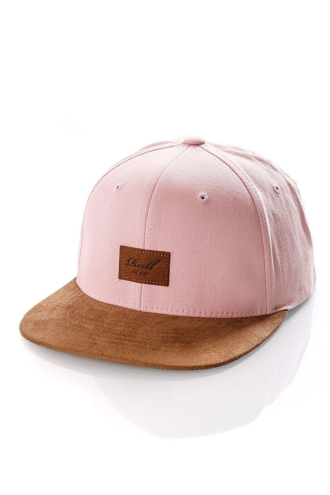 Afbeelding van Reell Snapback cap Suede Cap Dusty Pink 1402-038