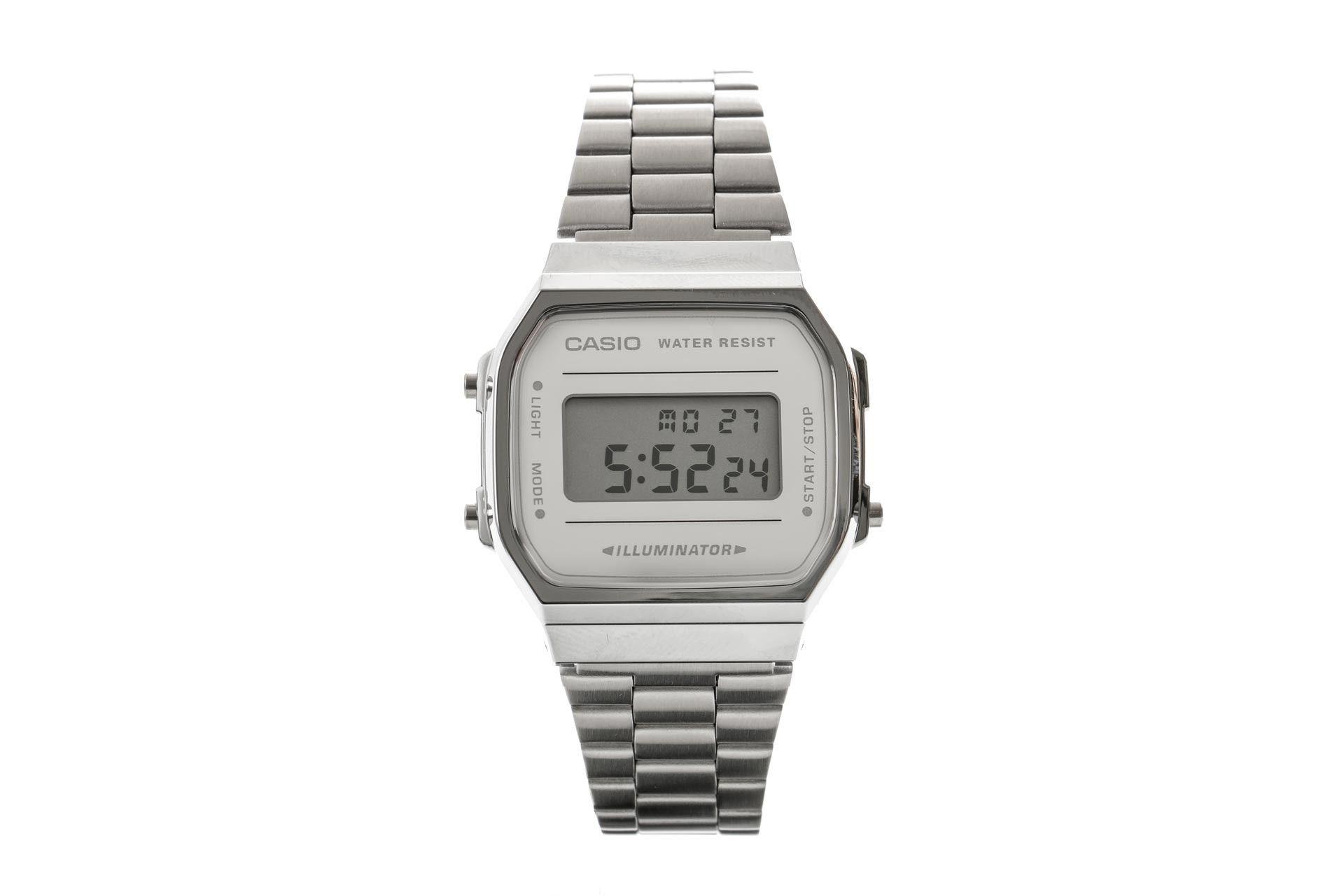 Afbeelding van Casio Horloge A168Wem Silver