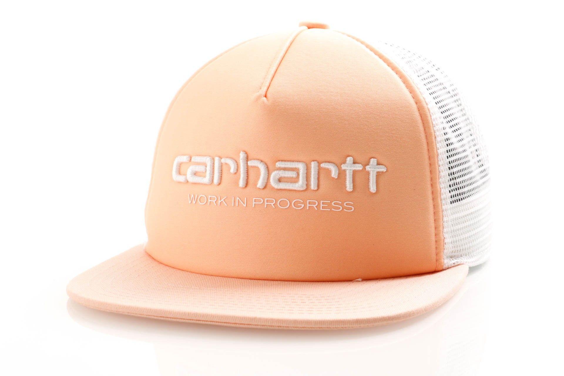 Afbeelding van Carhartt Wip Carhartt Wip Trucker Cap I026631 Trucker Cap Peach / White / White