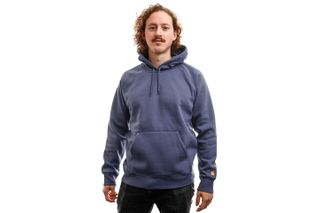 Foto van Carhartt Hooded Hooded Chase Sweat Cold Viola / Gold I026384