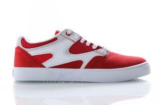 Foto van DC Sneakers Kalis Vulc Red/White ADYS300569