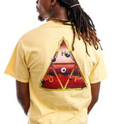 HUF T-Shirt HUF ALTERED STATE Washed Yellow TS01420