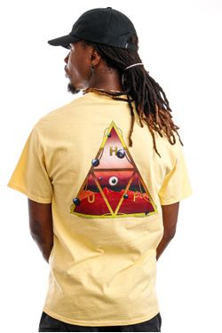 Afbeelding van HUF T-Shirt HUF ALTERED STATE Washed Yellow TS01420