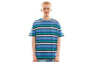 Foto van Tommy Hilfiger T Shirt Tjm Multi Stripe Tee Federal Blue DM0DM06547432
