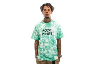 Foto van The Quiet Life T-Shirt House Plants T Tie Dye 21FAD1-1151