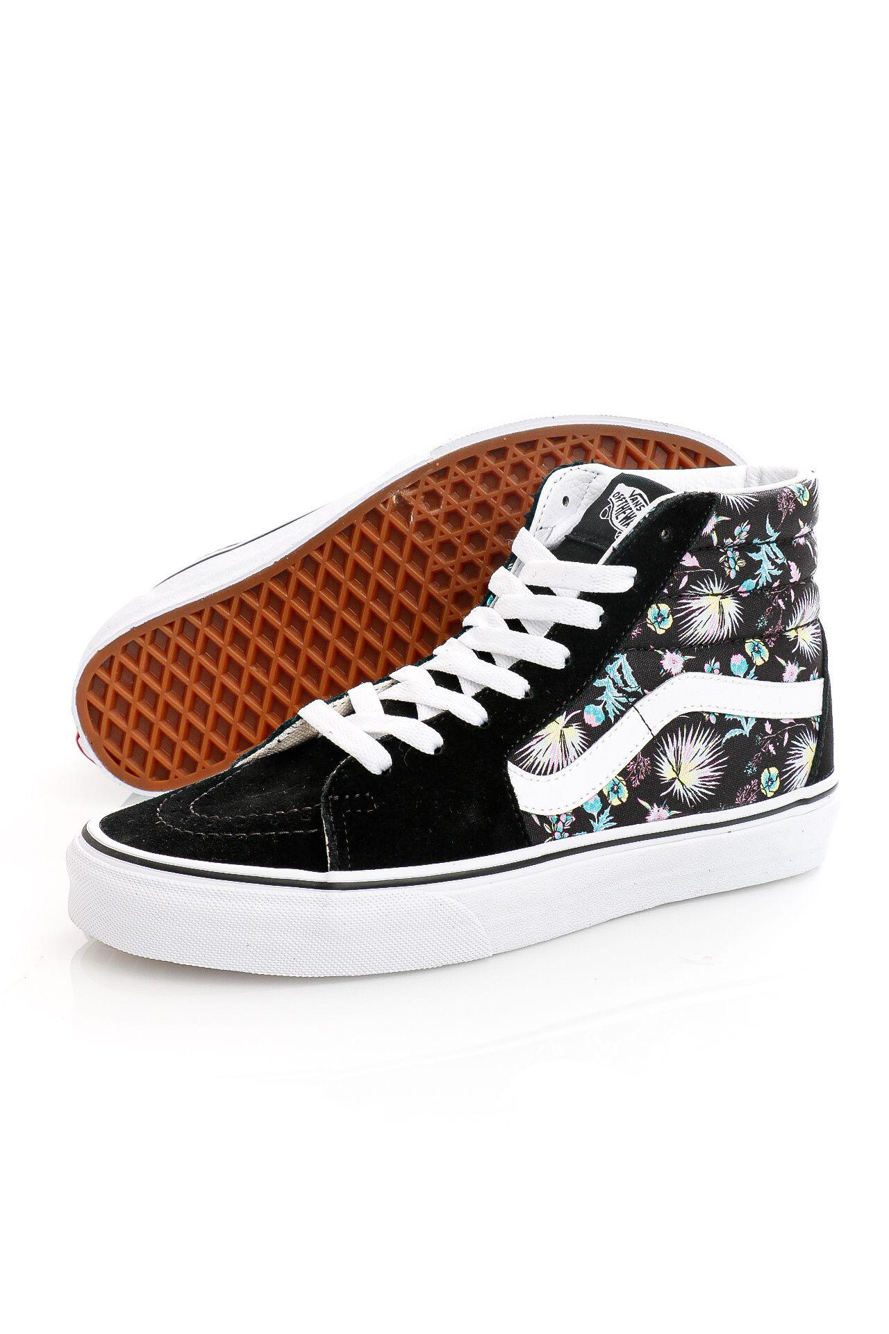 Afbeelding van Vans Sneakers UA SK8-Hi (PARADISE FLORAL) Black/True White VN0A32QG3VD1