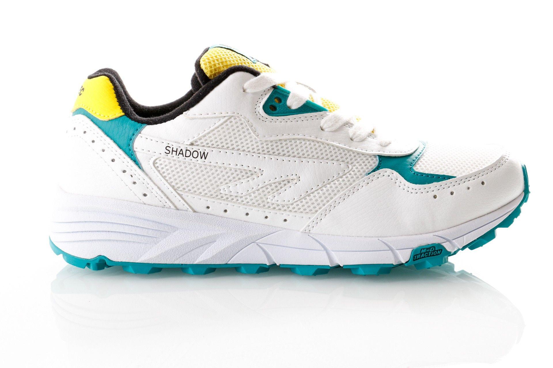 Afbeelding van Hi-Tec Shadow Tl S010009-013 Sneakers White/Navigate/Yellow