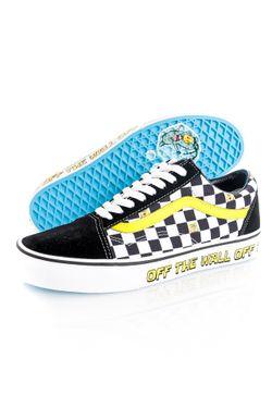 Afbeelding van Vans Sneakers UA Old Skool (SpongeBob) off the wall Do/Dark Gum/Kha VN0A38G19EK1