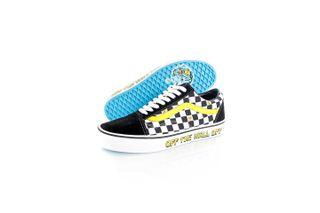 Foto van Vans Sneakers UA Old Skool (SpongeBob) off the wall Do/Dark Gum/Kha VN0A38G19EK1