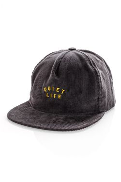 Afbeelding van Quiet Life Snapback QUIET LIFE STANDARD RELAXED Charcoal QL-19SPD1-1227