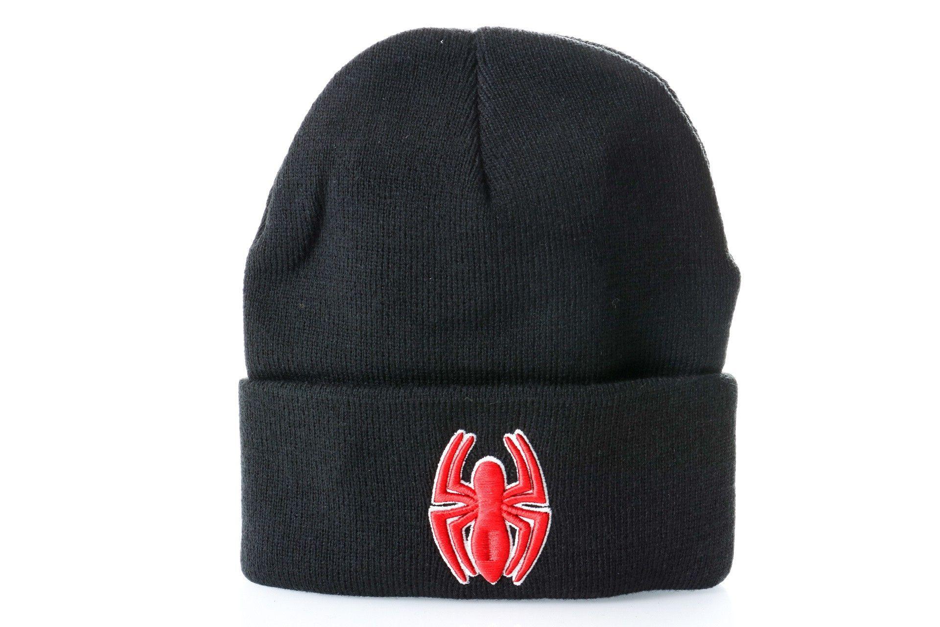 Afbeelding van Leftside Marvel Beanie Spiderman Spider Zwart