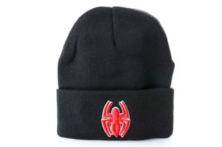 Foto van Leftside Marvel Beanie Spiderman Spider Zwart