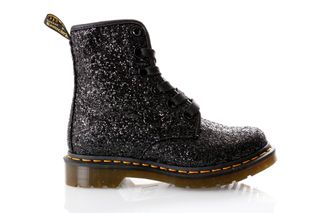 Foto van Dr. Martens Boots 1460 Farrah Black Chunky Glitter 25137001