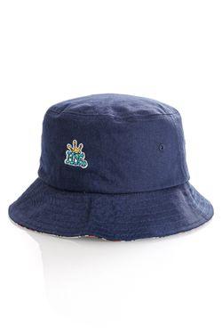 Afbeelding van HUF Bucket Hat HUF CROWN REVERSIBLE Navy Blazer HT00558